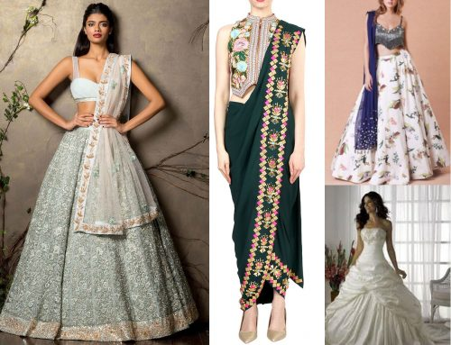 Indo western Dresses which can put you in limelight in the coming wedding season